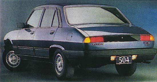 La Peugeot 504 De 1999